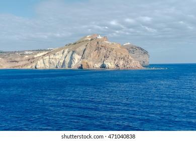 Santorini. Church on the Cape.