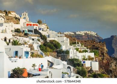 Santorini, Cyclades Island group, Greece