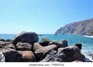 Santorini, Greece - Sea view