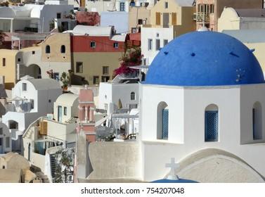 Santorini Horizontal Close