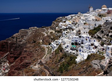 Santorini Island, Greece. Oia, Thira