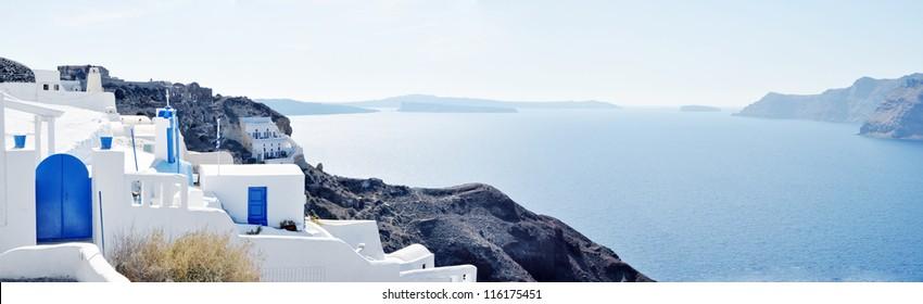 Santorini - panoramic view