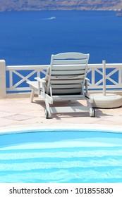 Santorini view - Greece (Firostefani) - vacation background