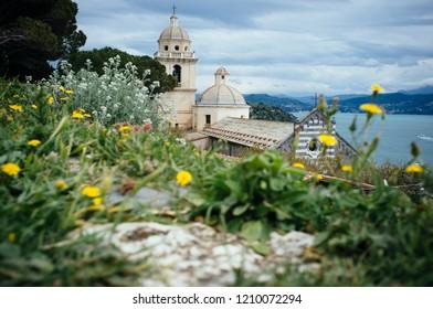 Santuario della Madonna Bianca in Porto Venere, Liguria, Italy