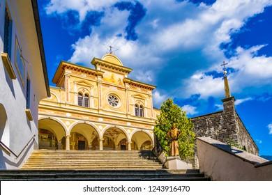 Santuario della Madonna del Sasso in Locarno, Switzerland