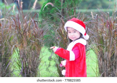 Santy christmas girl