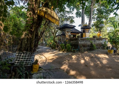 Sanur, Bali / Indonesia - November 2, 2018 : Abandoned theme park, Taman Festival Bali.