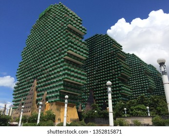 Sanya, Hainan / China - 08/19/2017:    Sanya Beauty Crown Hotel