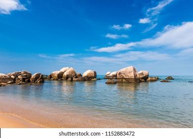 Sanya natural scenery in hainan island, China