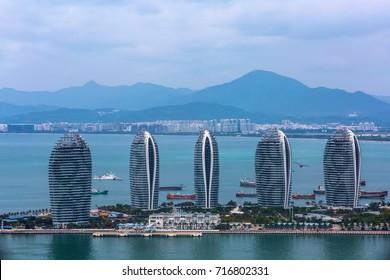 Sanya Phoenix Island President Resort Apartment, Hainan Sheng, Sanya Shi, Tianya Qu, China.