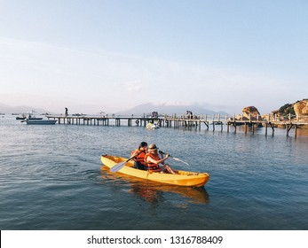 Sao Bien Resort, Binh lap Island, Cam Ranh, Nha Trang, Vietnam - Feb 07th, 2019 - The most beautiful beach in Vietnam