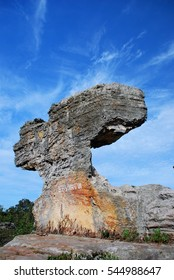 Sao Chaliang, Sandstone has long been corroded by nature for 1000 years.