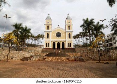 Sao Sebastião Church, Capitolio city, Minas Gerais District, Brazil.