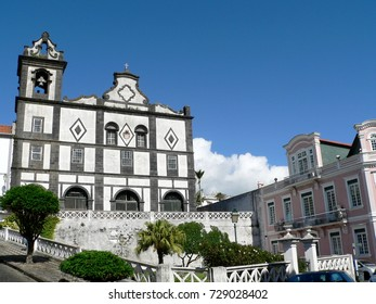 Sao Francisco, city of Horta, Faial, Azores, Portugal
