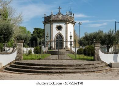 Sao Joao Chapel in Ponte de Lima, Portugal.