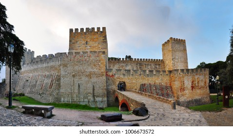 Sao Jorge Castle Lisbon Portugal landmark architecture