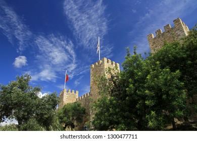 Sao Jorge Castle, Lisbon Castle, Lisbon, Portugal