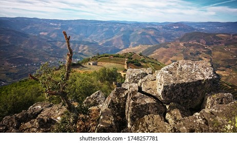 Sao Leonardo de Galafura Viewpoint in Douro Valley, Portugal