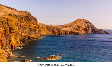 Sao Lourenco Point -  the eastern-most peninsula of Madeira island