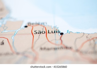 Sao Luis Map Images Stock Photos Vectors Shutterstock