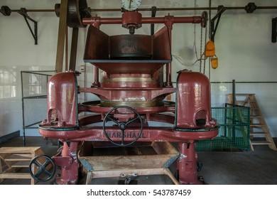 SAO MIGUEL ISLAND, AZORES, PORTUGAL - MAY 23, 2016: Gorreana tea factory