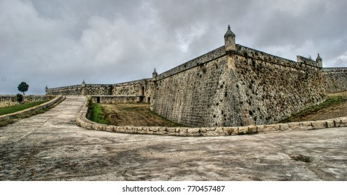 Sao Neutel Fortress in Chaves, North of Portugal