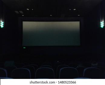Sao Paulo, Sao Paulo, Brazil - April 4, 2016. Famous city movie theater. Cinemark.
