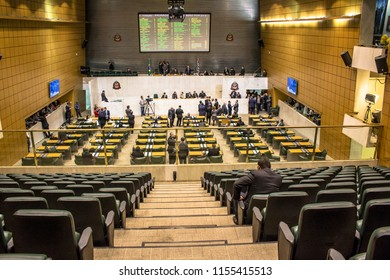 Sao Paulo, Brazil, June 07, 2016. state deputies discuss the laws within the legislative assembly of the state of Sao Paulo