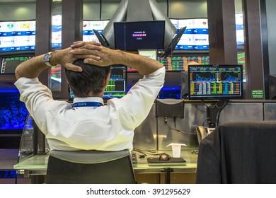 Sao Paulo, Brazil, March 14, 2016. Bovespa Stock Brokers Trading in Sao Paulo, Brazil