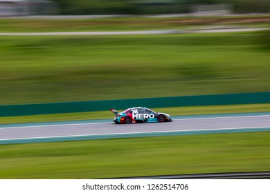 Sao Paulo December 07, 2018 #544 GAETANO DI MAURO of Hero Motorsport II during the final stage of the 2018 championship of the Brazilian Stock Car, at Interlagos circuit, in Sao Paulo, Brazil.
