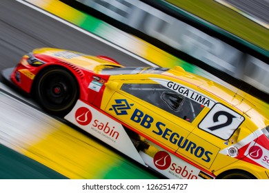 Sao Paulo December 07, 2018 #9 GUGA LIMA of Vogel Motorsport during the final stage of the 2018 championship of the Brazilian Stock Car, at Interlagos circuit, in Sao Paulo, Brazil.