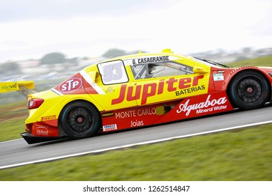 Sao Paulo December 08, 2018 #83 GABRIEL CASAGRANDE of Vogel Motorsport during the final stage of the 2018 championship of the Brazilian Stock Car, at Interlagos circuit, in Sao Paulo, Brazil.