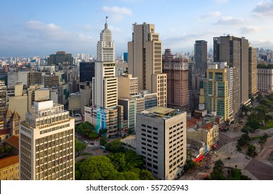 Sao Paulo Downtown Skyline - Brazil