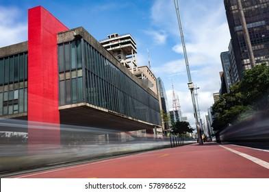 Sao Paulo Landmark - Paulista Avenue - Brazil