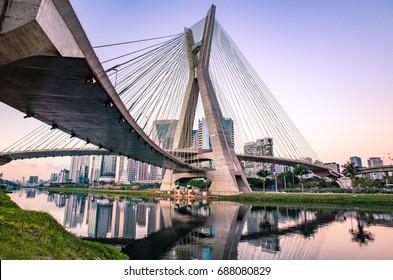Sao Paulo Landmark Skyline - Brazil