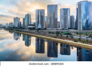Sao Paulo Skyline - Brazil