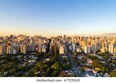 Sao Paulo skyline, Brazil, South America