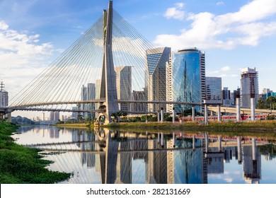 Sao Paulo Skyline Landmark - Brazil