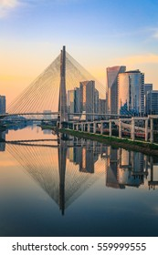 Sao Paulo Skyline Vertical - Brazil