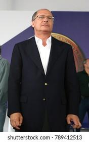 Sao Paulo, SP, Brazil - may02 2011 - governor of Sao Paulo state, Geraldo Alckmin is candidate to brazilian presidential election of 2018