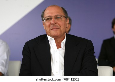 Sao Paulo, SP, Brazil - may02 2011 - governor of Sao Paulo state, Geraldo Alckmin is candidate to brazilian presidential election of 2018