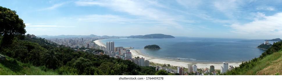 sao vicente beach in brazil