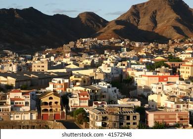 Sao Vicente in Cape Verde Africa.