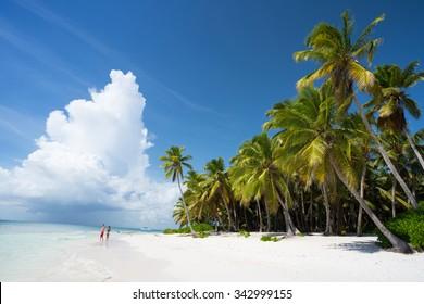 Saona Island in Punta Cana, Dominican Republic