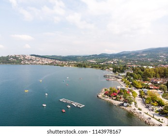 Sapanca Lake in Sakarya / Turkey / Pedalo