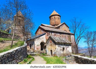 Sapara orthodox monastery church, near Akhaltsikhe, Georgia