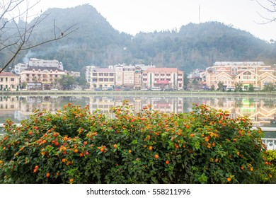 """SA-PA,Vietnam-20 November 2016 : SA-PA or other name """"City in the Mist"""" was on North of vietnam. The weather was cold all the days. They have clear river and many of hight mountain"""