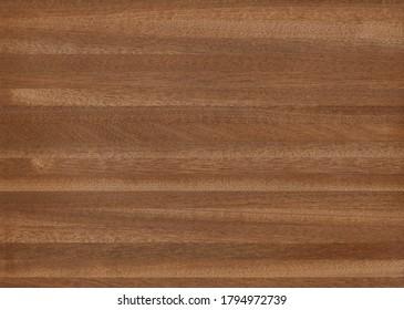 Sapele veneer, exotic natural wood from Africa.