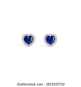 saphire gold necklace diamond ring