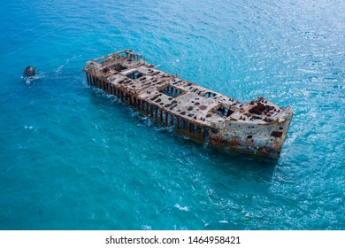 Sapona Shipwreck of the Bahamas in the Caribbean